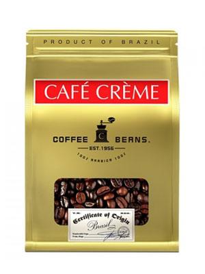 Cafe Creme в зернах Brazil 250 гр