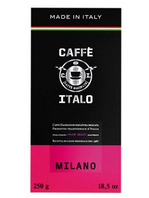 Кофе Italo молотый Milano 250 гр (ж.б.)