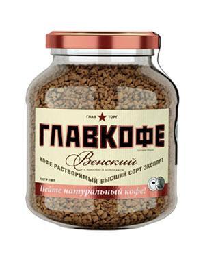 Главкофе растворимый венский 95 гр