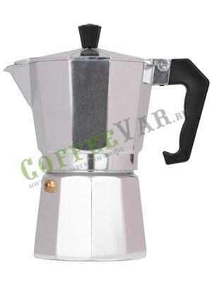Гейзерная кофеварка Hot Алюминиевая Индукционная на 6 порции (240 мл)