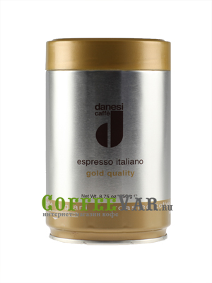 Кофе Danesi в зернах Gold 250гр