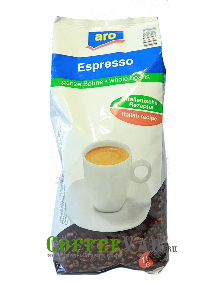 Кофе Aro в зернах Espresso 1кг