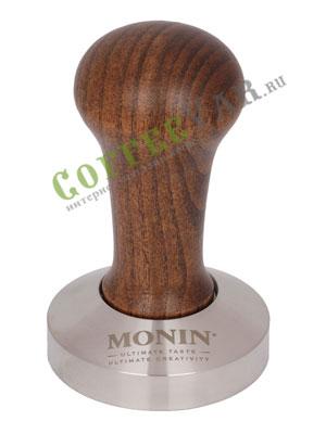 Темпер Monin 58 мм дерево