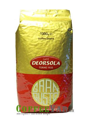 Кофе Deorsola в зернах Gran Gusto 1кг