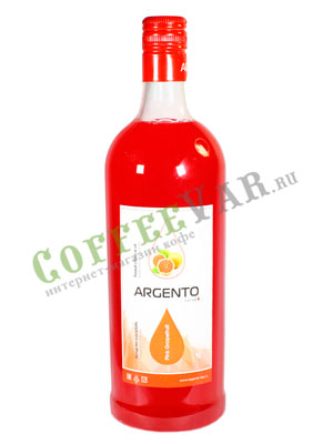 Сироп Argento Розовый грейпфрут 1 л