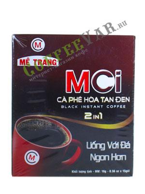 Кофе растворимый Me Trang INSTANT MCI 2 в 1/15 пак. по 16гр