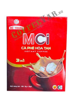 Кофе растворимый MeTrang INSTANT MCI 3 в 1/ 18пак. по 16гр