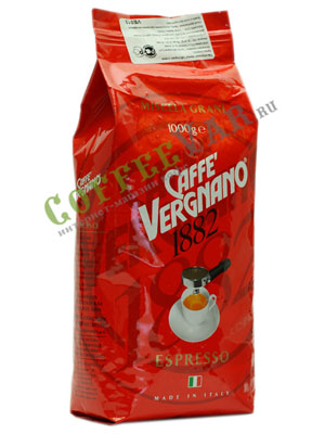 Кофе Vergnano в зернах Espresso Bar 1кг