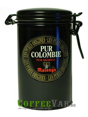 Кофе Malongo молотый Pur Colombie 250гр