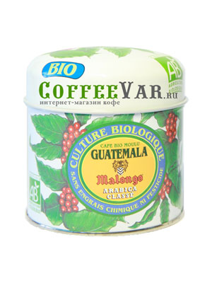 Кофе Malongo молотый Гватемала Био 125гр
