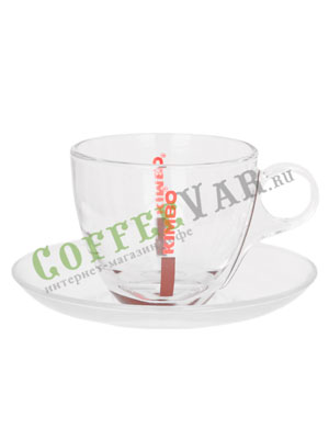 Чашка Kimbo для каппучино стекло