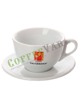 Чашка и блюдце Hausbrandt для Американо