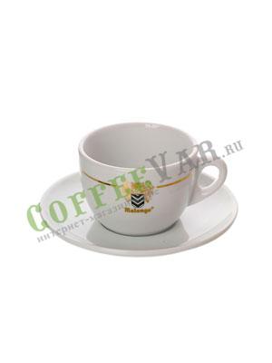 Чашка с блюдцем Malongo для каппучино