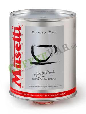 Кофе Musetti в зернах Grand Cru 3кг