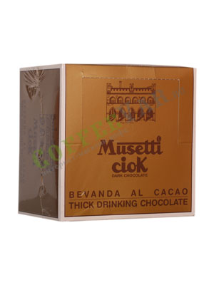 Горячий шоколад Musetti Ciok 50 шт по 25 гр