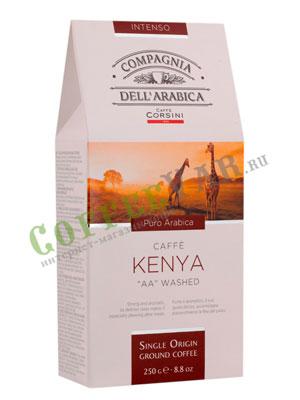 Кофе Compagnia Dell`Arabica молотый Kenya 250 гр