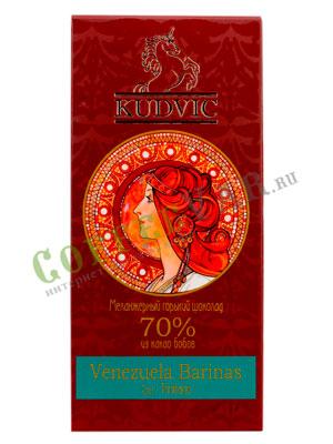 Шоколад Kudvic 70% из какао бобов Venezuela Barinas
