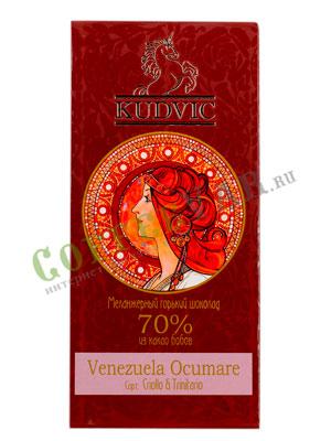 Шоколад Kudvic 70% из какао бобов Venezuela Ocumare