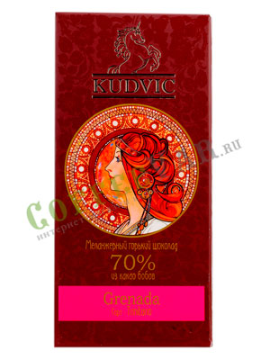 Шоколад Kudvic 70% из какао бобов Grenada