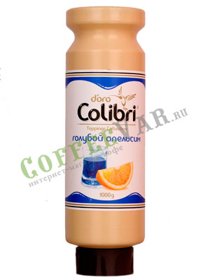 Топпинг Colibri D'oro Голубой Апельсин 1 л