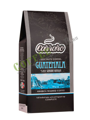 Кофе Carraro молотый Guatemala 250 гр