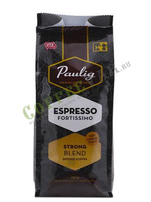 Кофе Paulig молотый Espresso Fortissimo 250гр