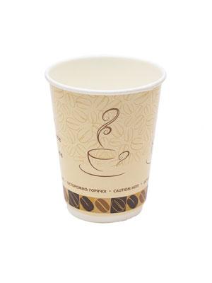Стакан бумажный ThermoCup двухслойный 300 мл Чашка кофе