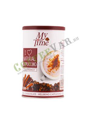 Кофе My Time Soul Energy Капучино с натуральным кофе и какао ж.б. 200 гр