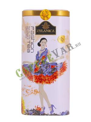 Чай Zylanica Fashion Pekoe with Cornflower & Safflower / Черный с цветками василька и с сафлором 100 гр ж.б