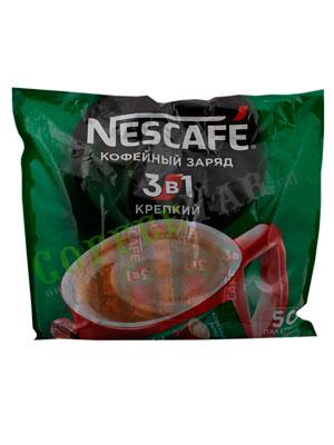 Кофе Nescafe 3 в 1 Крепкий 50 шт по 16 гр