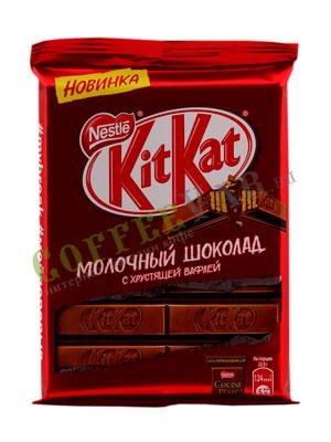 KitKat Молочный шоколад с вафлей, 94 гр