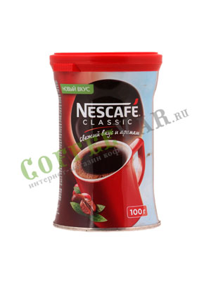 Кофе Nescafe Classic 100 гр ж.б