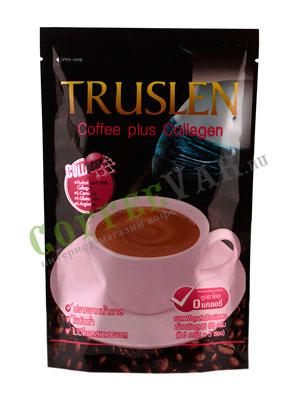 Кофе Truslen Coffee Plus Collagen 5 пакетиков по 16 гр