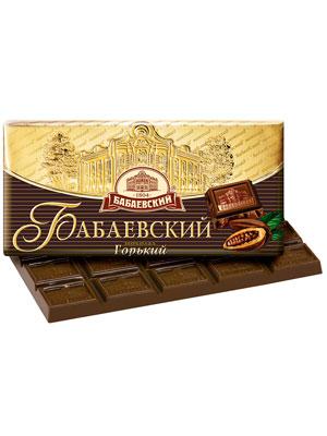 Шоколад Бабаевский горький 100 гр