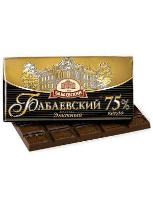 Шоколад Бабаевский Элитный 75% 100 гр