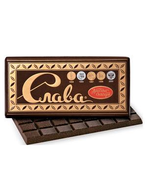 Шоколад Красный Октябрь Слава 75 гр