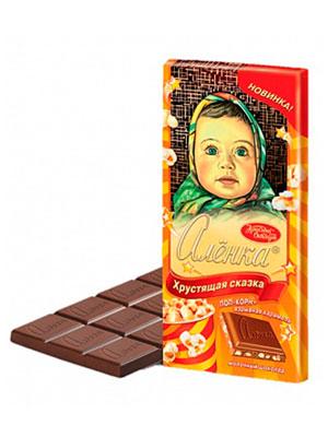 Шоколад Красный Октябрь Аленка Хрустящая сказка 100 гр