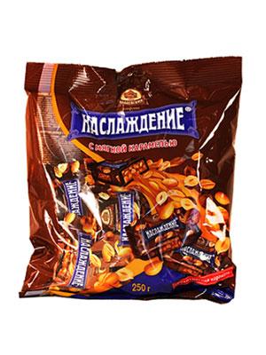 Конфеты Бабаевские Наслаждение с мягкой карамелью фас 250 гр