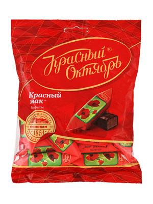 Конфеты Красный Октябрь Красный мак фас. 250 гр
