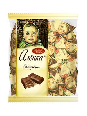 Конфеты Красный Октябрь Аленка фас. 250 гр