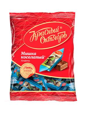 Конфеты Красный Октябрь Мишка косолапый фас. 250 гр