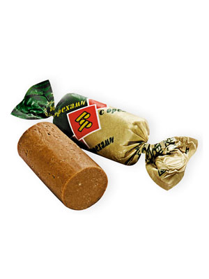 Конфеты Рот Фронт Батончики с орехами
