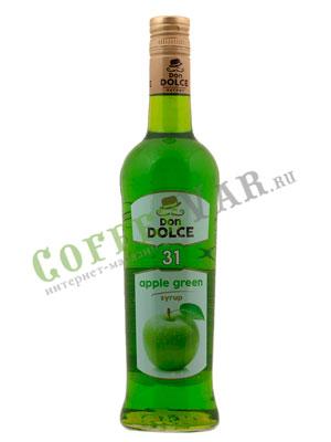 Сироп Don Dolce Яблоко зеленое 0.7 л.