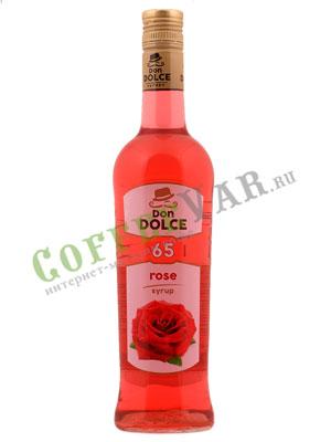 Сироп Don Dolce Роза 0.7 л