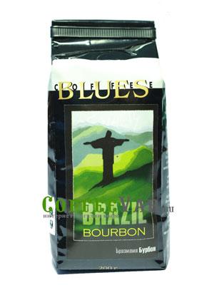 Кофе Brazil Bourbon в зернах 200гр