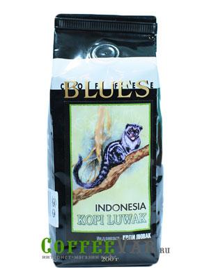 Кофе Kopi Luwak в зернах 200 гр