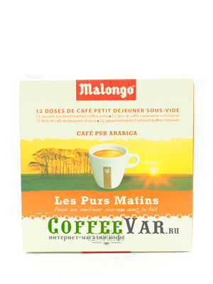 Кофе Malongo в чалдах Матан Лежер 12шт по 6,5гр