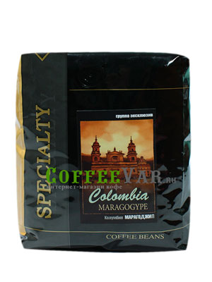Кофе Colombia Maragogype в зернах 500 гр