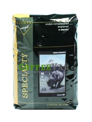 Кофе Kenya AA в зернах 1 кг