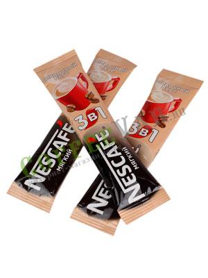Кофе Nescafe 3 в 1 Мягкий в стиках (поштучная продажа)